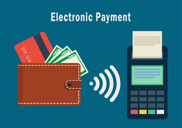 Wireless payment or credit card processing.