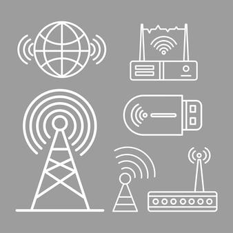 無線信号6アイコン