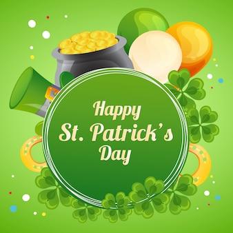 Wish you happy saint patrick's day