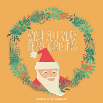 Wish you a very merry christmas card