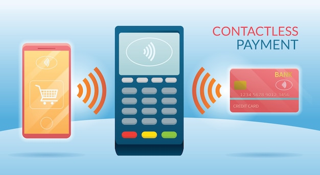 With credit card, smart card and smartphone