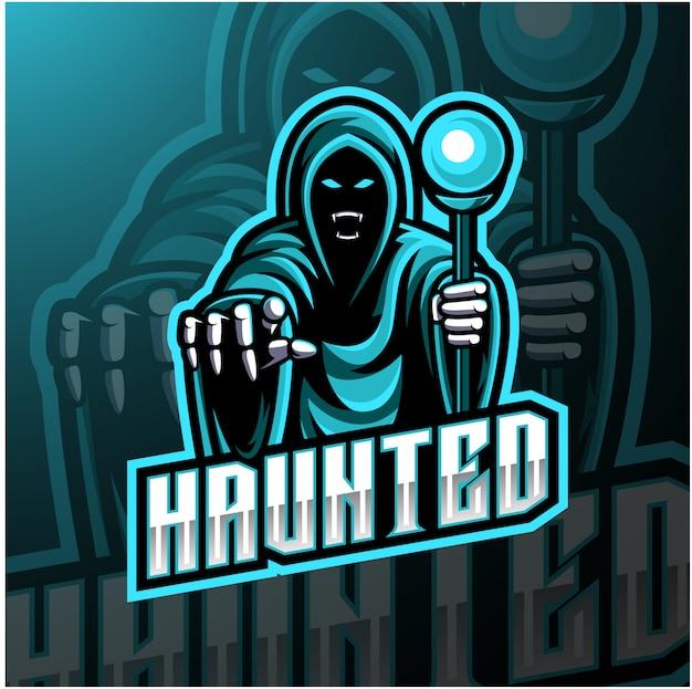 Мастер киберспорта дизайн логотипа талисмана