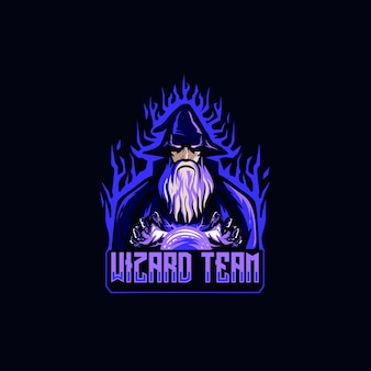 Wizard esportロゴ