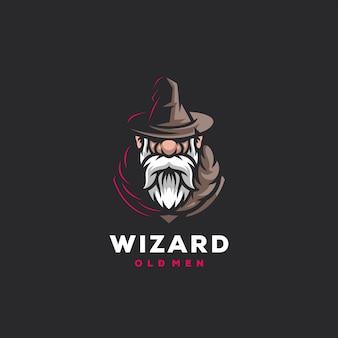 마법사 게임 스포츠 로고 디자인