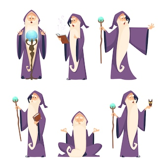 Wizard male set
