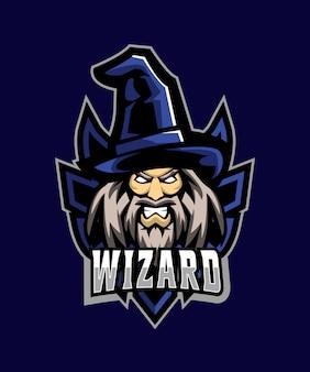 Wizard man esportsロゴ