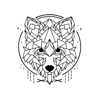 オオカミのジオメトリ