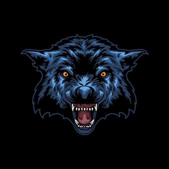 늑대 머리 그림