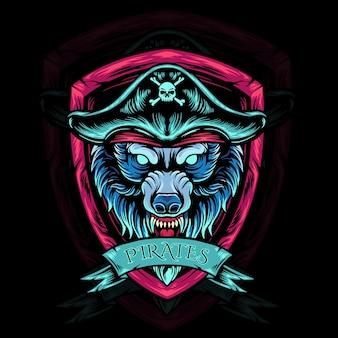 Wolf head pirates