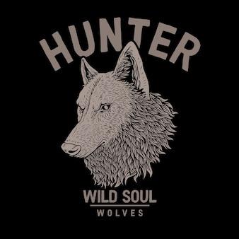 Охотник на волков, дикая душа