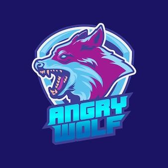 Wolf sport logo design