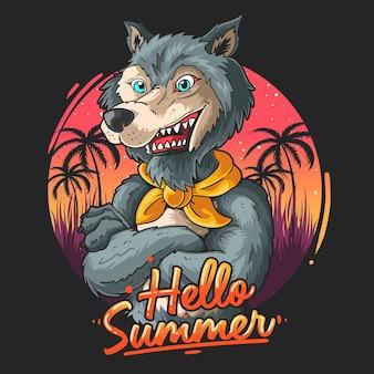 Волк иллюстрация береговой охраны