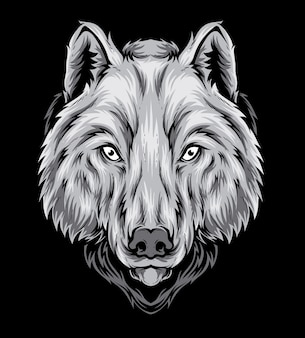 Wolf vector head