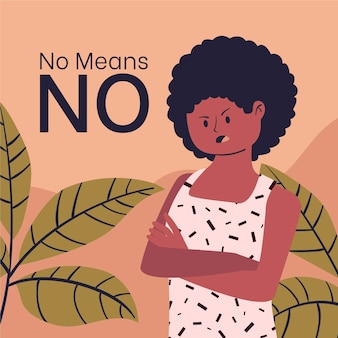 女性と植物のプロの公民権の概念