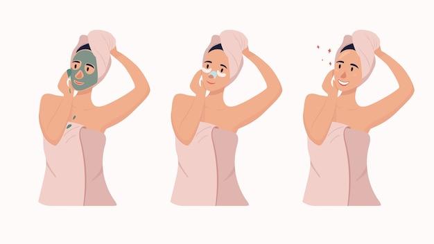 女性は顔セットを気にします