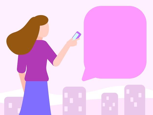 도시 생활에서 mobie에 여자 채팅입니다.