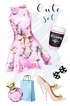 Женская одежда для обложки моды