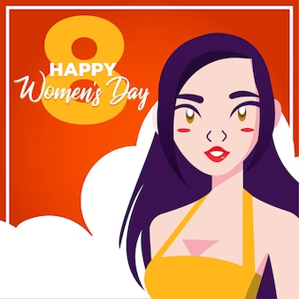 Woman day card
