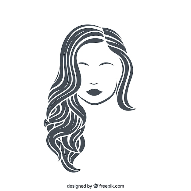 Woman vector art
