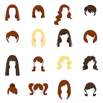 Набор женских волос
