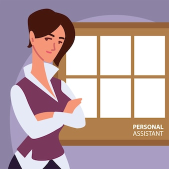 Woman personal assistant