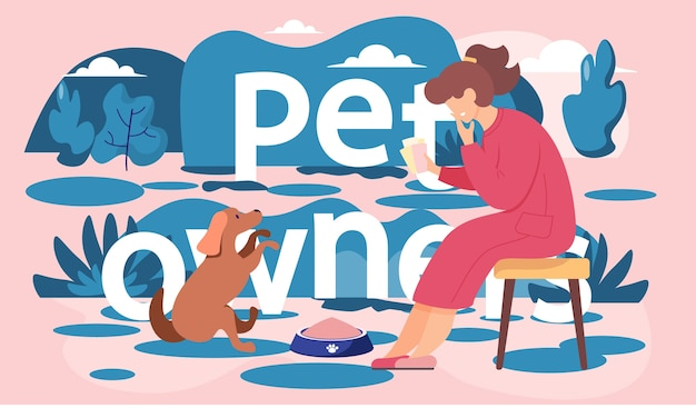 Woman in red dress sitting on a bench looking at brown dog. female in the park is resting with a pet in the evening, feeds beloved puppy teaches his command to sit. romantic girl dreaming with a doggy