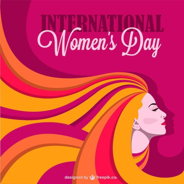Женщины день дизайн