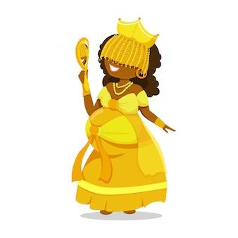 Женщина umbanda oxum