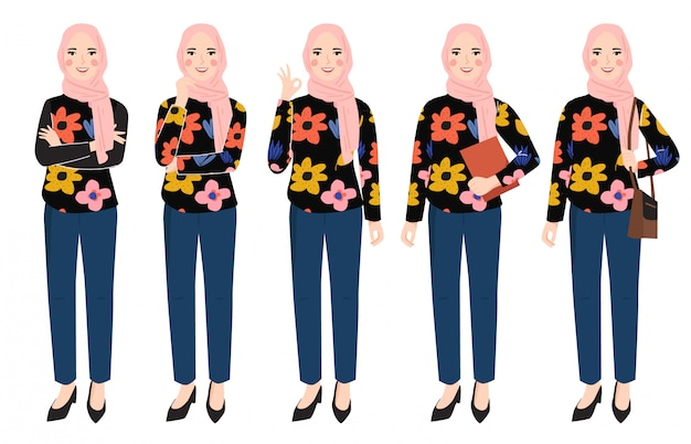 Набор символов хиджаб