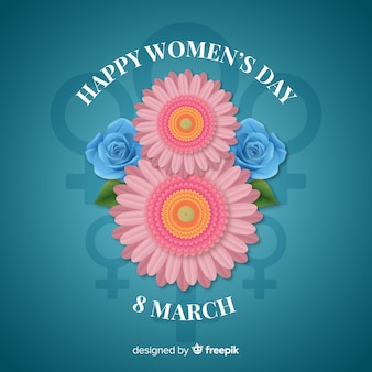 Womans day background