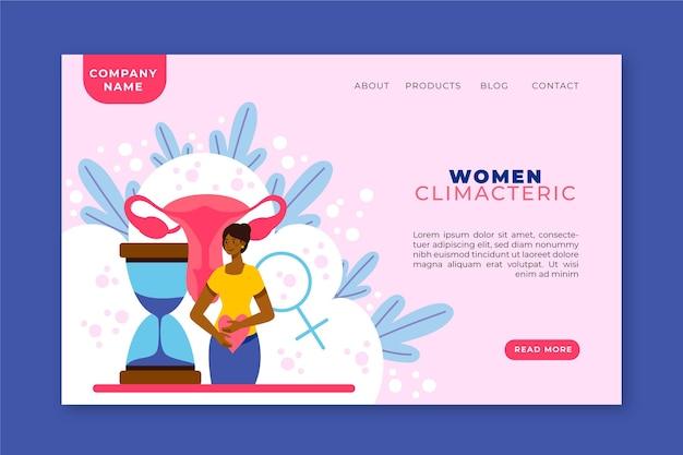 Климактерический период для женщин - целевая страница