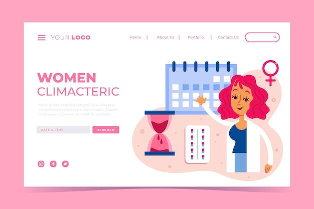 Women climacteric - landing page