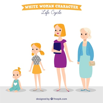 Women in different ages