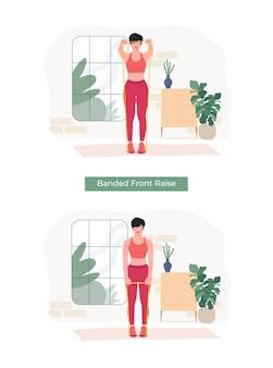 Женщины, выполняющие упражнение с подъемом на спину