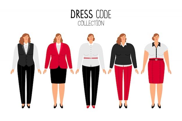女性のドレスコード
