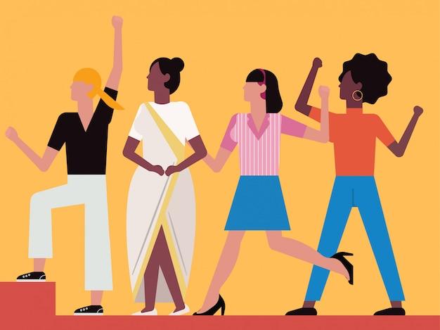 Women empower concept