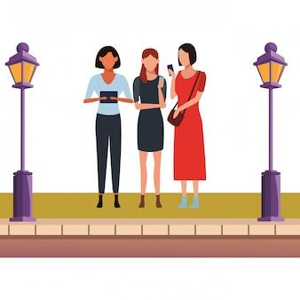Women friends meeting