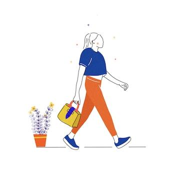 Женщины ходят по магазинам