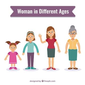 Женщины в разном возрасте