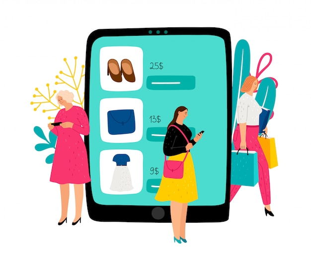 여성 온라인 쇼핑