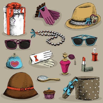 Women's accessories set