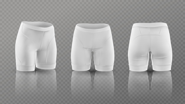 Women's cycling shorts.