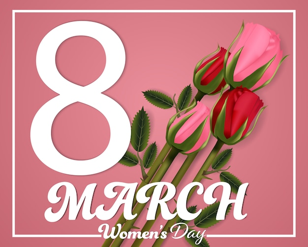 Women's day 8 march background.