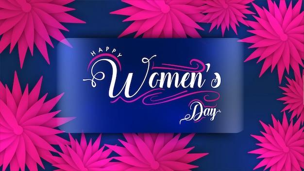 여성의 날 배경