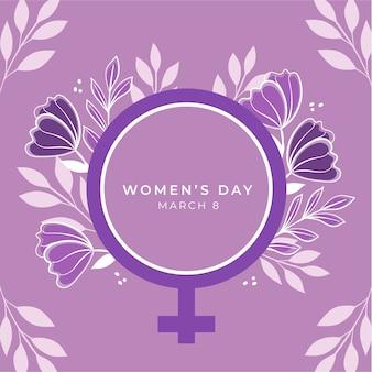 꽃 스타일의 여성의 날 행사