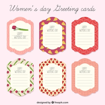 여성의 날 인사말 카드