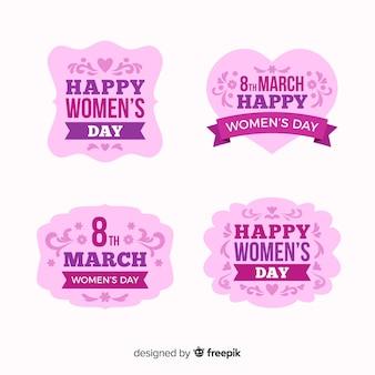 여성의 날 라벨 컬렉션