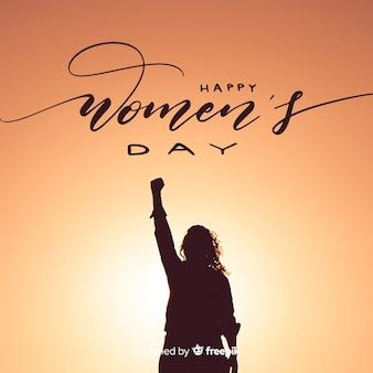 Women's day lettering