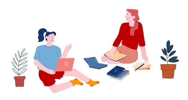 Конференция студентов-женщин или учебный процесс