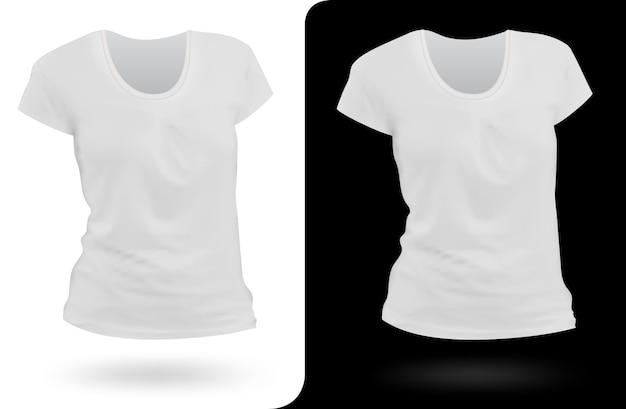 Women t-shirt template